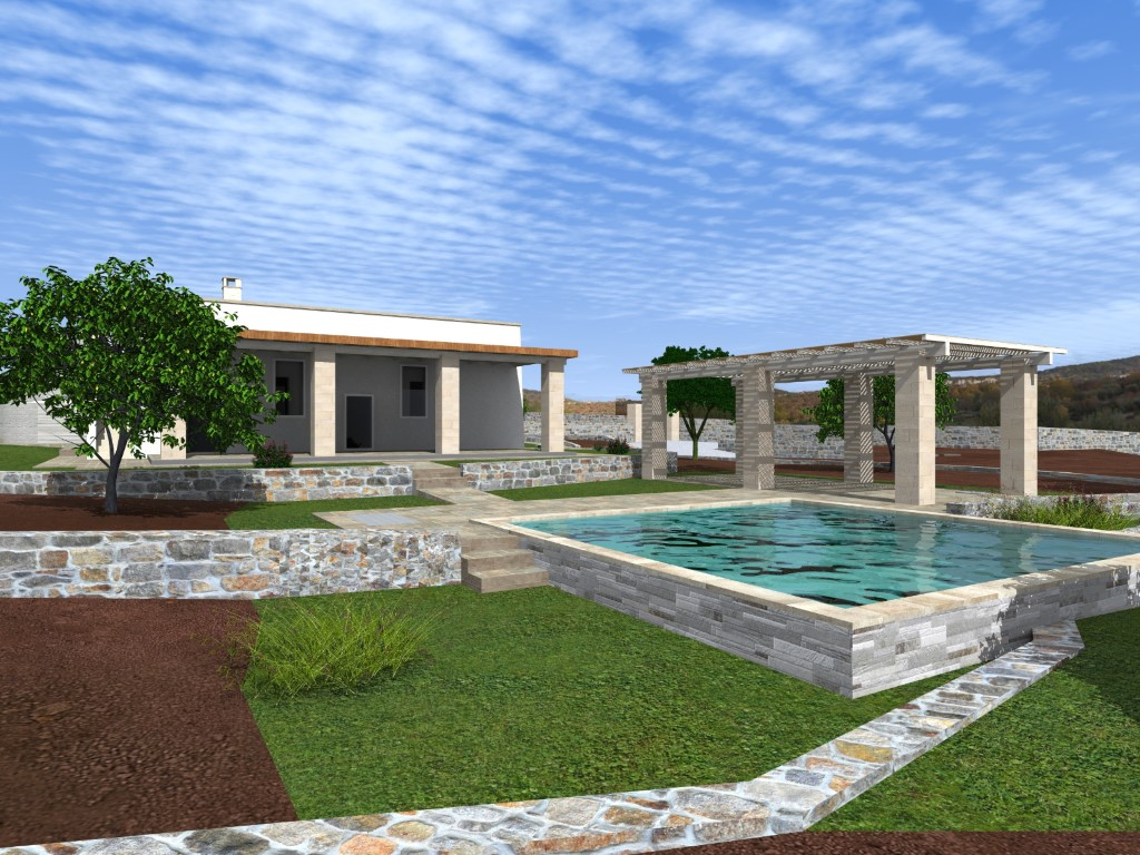 Building land 7 km from Ostuni, Cinera district with 7800 square meters of panoramic land